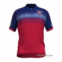 Mls Chicago Fire Short Sleeve Cycling Jersey Bike Clothing Cycle Apparel Tj-206-1962 Best