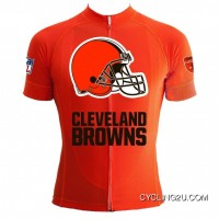 Online Nfl Cleveland Browns Short Sleeve Cycling Jersey Tj-273-3571