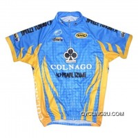 Team Colnago Blue Yellow Cycling Short Sleeve Jersey Tj-960-5264 Latest