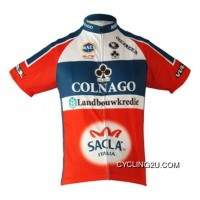 New Style Team Colnago Red White Cycling Short Sleeve Jersey Tj-003-4574
