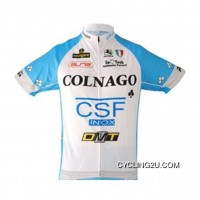 Team Colnago Blue Cycling Short Sleeve Jersey Tj-334-5407 New Style