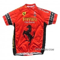 Best Team Colnago Red Cycling Short Sleeve Jersey Tj-773-4808