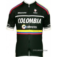 Copuon Colombia - Coldeportes 2012 - Professional Team Cycling Short Sleeve Jersey Tj-779-0747
