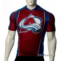 Best Colorado Avalanche Cycling Jersey Short Sleeve TJ-216-4158