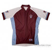 Mls Colorado Rapids Short Sleeve Cycling Jersey Bike Clothing Cycle Apparel Tj-303-4894 Outlet