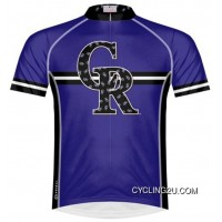 Top Deals Mlb Colorado Rockies Cycling Jersey Bike Clothing Cycle Apparel Shirt Ciclismo Tj-589-8519