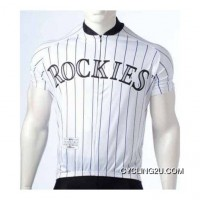 Mlb Colorado Rockies Cycling Jersey Bike Clothing Cycle Apparel Shirt Ciclismo Tj-623-5810 New Style