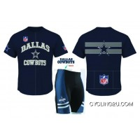 NFL DALLAS COWBOYS Cycling Short Sleeve Jersey TJ-787-6490 For Sale