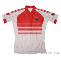Outlet Mls D.C. United Short Sleeve Cycling Jersey Bike Clothing Cycle Apparel Tj-597-9007