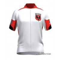 Copuon Mls D.C. United Short Sleeve Cycling Jersey Bike Clothing Cycle Apparel Tj-881-4412