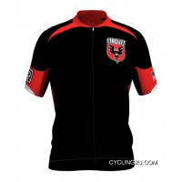 Copuon Mls D.C. United Short Sleeve Cycling Jersey Bike Clothing Cycle Apparel Tj-248-4201