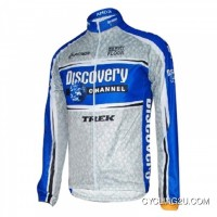 Copuon 2005 Discovery Channel Cycling Jersey Long Sleeve Tj-613-8670
