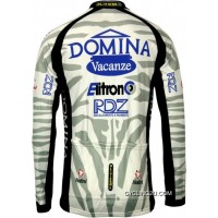 For Sale Domina Vacanze 2004 Radsport - Long Sleeve Jersey Tj-493-3021