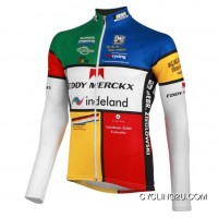 2012 Eddy Merckx-Indeland Team Long Sleeve Cycling Jersey Tj-009-4024 New Year Deals