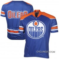 Top Deals NHL Edmonton Oilers Cycling Jersey Short Sleeve TJ-276-8717
