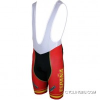 For Sale España 2012 Inverse Radsport-Profi-Team Bib Shorts White Tj-087-4574