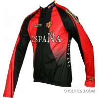 New Year Deals 2011 España Inverse Radsport-Profi-Team-Winter Fleece Long Sleeve Jersey Jacket Tj-423-9626