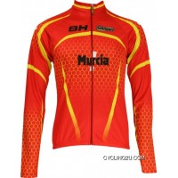 Outlet 2010 España Murcia Inverse Radsport-Profi-Team-Long Sleeve Jersey Tj-254-6226