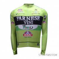 FARNESE VINI Giro Long Sleeve Jersey 2012 TJ-148-2033 New Year Deals
