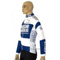 Best Fassa Bortolo 2005 Radsport - Winter Fleece Long Sleeve Jersey Jacket Tj-811-1589