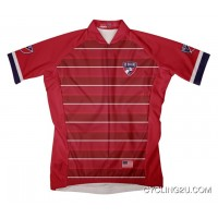 Mls Fc Dallas Short Sleeve Cycling Jersey Bike Clothing Cycle Apparel Tj-159-6978 Discount