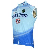 Gerolsteiner 2008 Radsport-Profi-Team Sleeveless Jersey Vest TJ-577-9242 For Sale