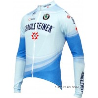 Gerolsteiner 2007 Radsport-Profi-Team-Winter Fleece Long Sleeve Jersey TJ-157-0207 Online