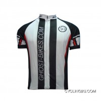 2011 Ghost Black And White Team Short Sleeve Cycling Jersey Tj-263-0988 Online