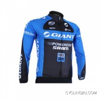 Discount 2011 Team Giant Cycling Long Sleeve Jersey Tj-148-0794