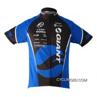 2010 Team Giant Cycling Short Sleeve Jersey In Blue Tj-630-3274 Latest
