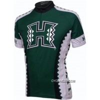 Uh University Of Hawaii Cycling Short Sleeve Jersey Tj-142-1579 Discount