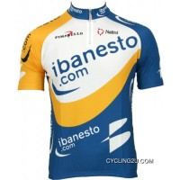 Best Ibanesto 2003 Short Sleeve Jersey - Radsport-Profi-Team Tj-279-9436