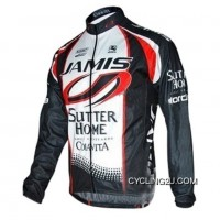 2010 Jamis Sutter Home Colavita Long Sleeve Jersey TJ-304-8464 Outlet