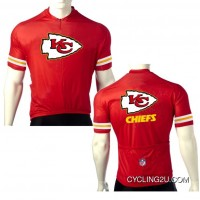 NFL Kansas City Chiefs Cycling Short Sleeve Jersey TJ-097-3192 Best