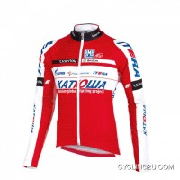 Super Deals Katusha 2012 Cycling Long Sleeve Jersey Tj-741-9472