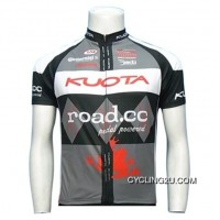 New Release 2011 Kuota Sram Hing Rond Long Sleeve Jersey Tj-890-8437