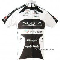 Discount Kuota Indeland 2010 Team Cycling Jersey Short Sleeve Tj-002-3281