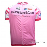 Lagazzetta Dello Sport Short Sleeve Cycling Jersey Tj-074-1633 Latest