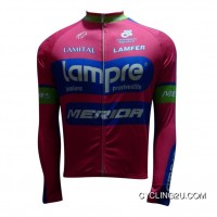 New Year Deals 2013 Lampre Long Sleeve Winter Jacket Tj-536-2426