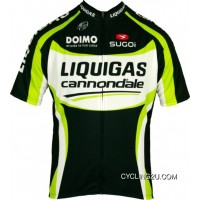 Discount Liquigas Cannondale 2012 Black Edition Sugoi Radsport-Profi-Team Short Sleeve Jersey Tj-814-7840