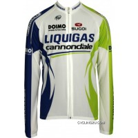 LIQUIGAS CANNONDALE 2011 Sugoi Radsport-Profi-Team Long Sleeve Jersey TJ-102-9814 Top Deals