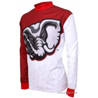 UA University Of Alabama Crimson Tide MTB Long Sleeve Bike Cycling Jersey TJ-524-2644 New Release