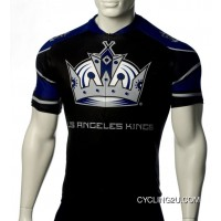 Online Los Angeles Kings Cycling Jersey Short Sleeve Tj-166-3671