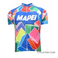 2012 Mapei Short Sleeve Cycling Jersey Tj-404-4375 Outlet