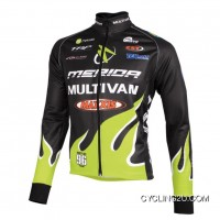 Multivan Merida Biking Team Long Sleeve Jersey Jacket 2012 Tj-498-7937 Online