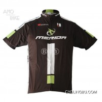 Outlet 2011 Merida Black Short Sleeve Cycling Jersey Tj-549-7307