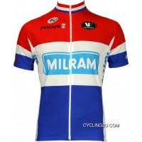 New Release Milram German Champion 2010 Cycling Jersey Short Sleeve TJ-265-9683