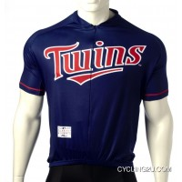 New Year Deals MLB Minnesota Twins Cycling Jersey Short Sleeve TJ-647-4028