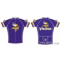 NFL Minnesota Vikings Short Sleeve Cycling Jersey Bike Clothing TJ-971-5666 Best