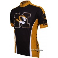 Mizzou MU University Of Missouri Tigers Cycling Short Sleeve Jersey TJ-595-7957 Super Deals